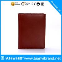 Best 2015 Factory direct bulk selling man leather wallet wholesale