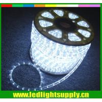 China super bright led lights cool clear white  2 wire rope christmas lights on sale