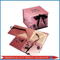Cheap Elegant Customized Design Chipboard Paper Gift Packaging Box Folding Shape for sale