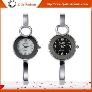 YQ08 Fashion Bangle Bracelet Watch for Girls Ladies Woman Female Dress Stainless Watch New
