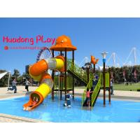 Best Promotional Water Park Playground Equipment Plastic Reliable Long Life Span wholesale
