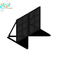Best Outdoor Aluminum Stage Crowd Control Barrier For Performance wholesale