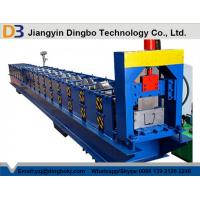 Best Metal Gutter Roll Forming Machine , Aluminum Gutter Machine 24 Months Warranty wholesale