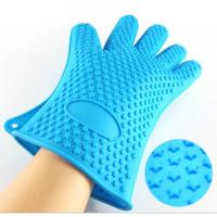 Best High Quality Kitchen Baking Glove Star Points Silicone Hot Pads Gloves wholesale