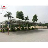 Best Long - Span Natural Lighting Tensile Membrane Structures Colorful Roof Fabric wholesale