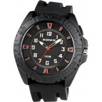 China Sporty Silicon Analog Watch For Men / 100M Water Resistant Wristwatch on sale