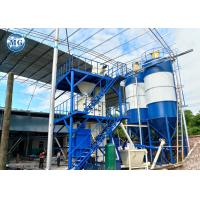 China 10-20T per hour automatic dry mortar plant For cement sand mixing and packaging on sale