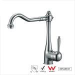 Best Watermark Single Handle Water Faucet , Bathroom Basin Water Ridge Tap wholesale