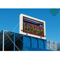 P16 Outdoor Waterproof RGB LED Display For Football Stadium Advertising  16 * 16mm