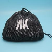 China New Gift Packing Drawstring Mesh Bag with custom printed logo For Sport Shoes on sale