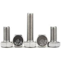 Best SS 316 A4 Flagne Galvanized Hex Bolts High Strength Full Thread Common Bolt Heads wholesale