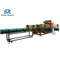 China Auto Heat Shrink Tunnel Packaging Machine For Beverage Flat Bottle on sale