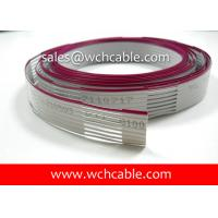 China UL4411 XLPE Flat Ribbon Cable Tinned Stranded Copper Conductors 125C 300V on sale