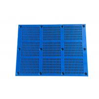 Buy cheap Polyurethane Dewatering Screen Panels , Polyurethane Mesh With Hook For Mining from wholesalers