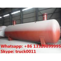 hot sale 15,000L buried propane gas storage tanker for sale, ASME standard underground lpg gas storgage tank for sale