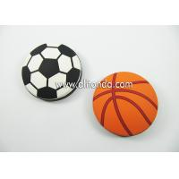 Best Round shape basketball football shape personalized mini portable bottle opener custom as for promotional gifts wholesale