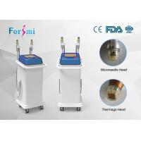 Best thermage tips micro needle Fractional max 50MHz infini rf output skin treatment easy assignment radio frequency wholesale