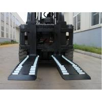 Best Wheel Forks Forklift Truck Attachments For Lifting , Carbon Steel Pallet Fork Extensions wholesale
