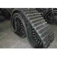 Buy cheap Dumper Construction Equipment Replacement Rubber Tracks 800 * 125 * 80mm from wholesalers