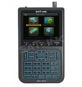 Digital DVB-S Satlink Satellite Finder Meter WS 6922 High Definition Free To Air With Spectum