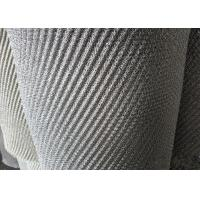 Demister Pad Material Woven Wire Mesh / Metal Screen Mesh For Vapor - Liquid Separation