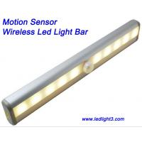 Best Portable Motion Sensor Wireless Led Light Bar USB Rechargeable with magnetic strip Cabinet Light wholesale