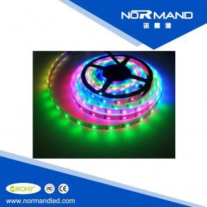 China Full color Addressable 24-Bit 5050 RGB LED Strip WS2801 32 Pixels 5V Black/White on sale