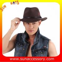 Best 2050373 Sun Accessory customized  winter wool felt fashion style cowboy  hats  ,unisex hats and caps wholesaling wholesale