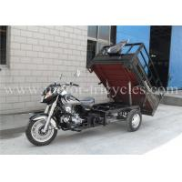 Best Gasoline Disc Brake Cargo Motorcycle Tricycles Single Exhaust 160mm Ground Clearance wholesale
