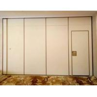 Best Hotel Acoustic Room Dividers / Wooden Sliding Wall Partitions Folding Parking System wholesale