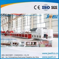 Best Jwell Plastic Machinery high production speed PERT Plastic Board extrusion line wholesale