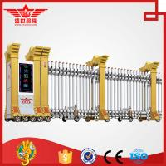 Best Trackless Government Entrance Electric Retractable Automatic Expandable Gate L1510 wholesale