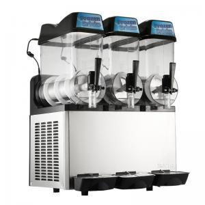 Best Triple Bowls Frozen Slush Machine 304 Stainless Steel With r134a Refrigerant wholesale