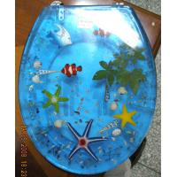 China polyresin toilet seat cover,MDF toilet seat,PP toilet seat,sea star,shell transparent on sale