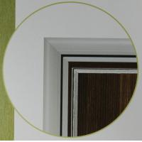 Best Sound Insulation Moth-proofing Recyclable Fire Proof Melamine Plate Ecotypic Doors wholesale