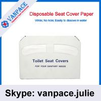 Best 1/2 fold toilet seat cover paper/ Good quality / Disposable paper wholesale