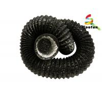 Best Heat Resistant Ventilation Flexible Ducting PVC Aluminum Laminated With Polyester wholesale