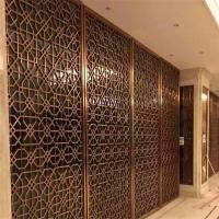 Best construction building stainless steel dubai room divider screen metal work project wholesale