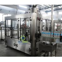 Best 3-in-1 bottle ф50 ~ ф100mm mineral or pure drinking water filling capping machines wholesale