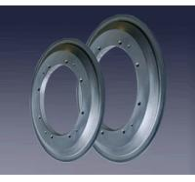 Slot Edge Vitrified Diamond Wheel Equip With High Precision NC Crankshaft Grinding Machines