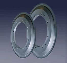 Cheap Slot Edge Vitrified Diamond Wheel Equip With High Precision NC Crankshaft Grinding Machines for sale