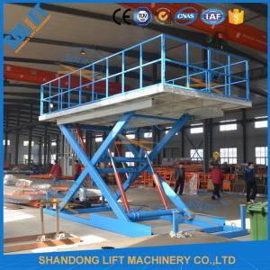 China Durable Home Garage Car Scissor Lift Heavy Duty Scissor Lift Table Multi Color on sale