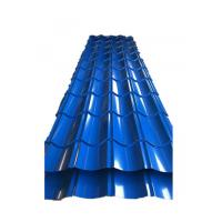 Best 0.3mm Trapezoidal Tile Galvanised Corrugated Roofing Sheets Small / Big Spangle wholesale