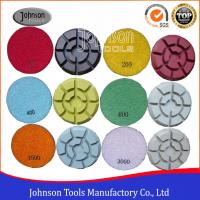 China 100mm Diamond Polishing Pads for Concrete , Polishing the Concrete Countertop and Floor on sale