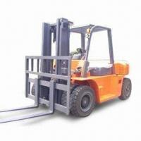 Best 10T Diesel Forklift with 600mm Load Center Distance and 2,200rpm Speed wholesale