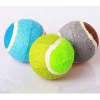 Best 2.5inch promotional tennis ball with custom logo C grade wholesale