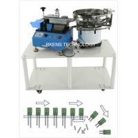 Best Radial Capacitor Lead Cutting Machine AC 220V/110V With Automatic Feeding Drum wholesale