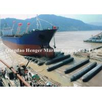 Best Marine Salvage Ship Launching Airbags 0.5-2.5m Diameter For Weight Lifting wholesale