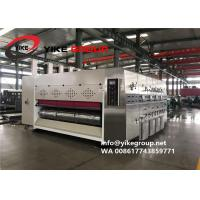Best Automatic Corrugated Carton Box Machine 200pcs/min Ink Printing Die Cutting With Slotting Machine wholesale
