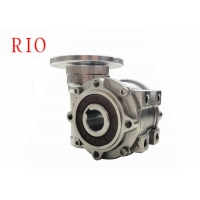 China stainless steel worm gear reducer speed ratio 15 underwater work anti-corrosion and anti-rust on sale